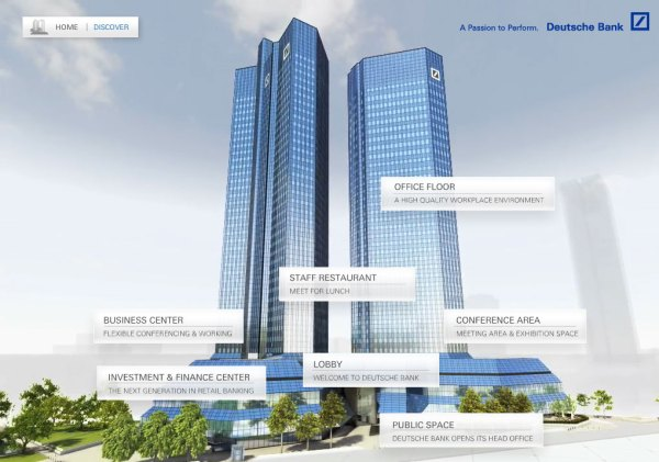 New Deutsche Bank Headquarters