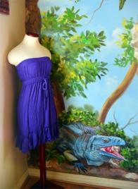 Blue Iguana Painting