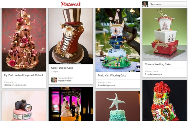 Note Your Average Cake on Pinterest